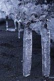 Детали льда Стоковая Фотография RF