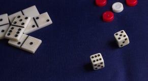Детали для игр таблицы Стоковые Изображения