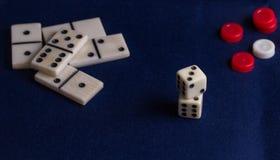 Детали для игр таблицы Стоковое Изображение RF