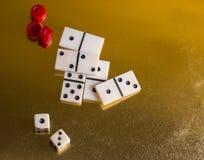 Детали для игр таблицы Стоковое фото RF
