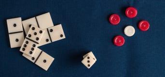 Детали для игр таблицы Стоковые Фотографии RF