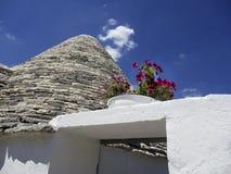 Детали Alberobello архитектурноакустические Стоковые Фотографии RF