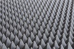 Деталь акустической пены в студии звукозаписи Стоковое Изображение RF