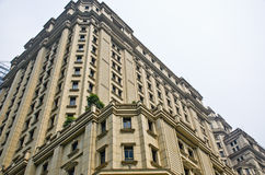 Деталь архитектуры банка в Китае Стоковое фото RF
