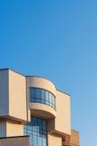 Деталь архитектуры современных офисных зданий Город Чебоксар, республика Chuvash, Россия 10/28/2016 Стоковое Изображение