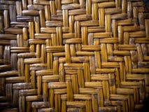 Деталь бамбуковой мебели weave Стоковые Фотографии RF