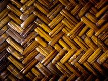 Деталь бамбуковой мебели weave Стоковое Фото