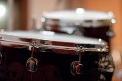 Деталь барабанчика стоковая фотография rf