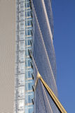 Деталь башни Isozaki на Citylife; Милан, Италия Стоковые Фотографии RF