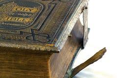 Деталь библии винтажная бортовая Стоковое Изображение RF