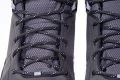 Деталь ботинка зимы Стоковые Фото
