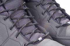 Деталь ботинка зимы Стоковые Изображения RF