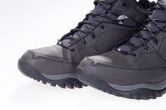 Деталь ботинка зимы Стоковое Изображение RF