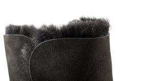 Деталь ботинка UGG Стоковые Фотографии RF