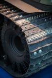 Деталь бульдозера гусеницы Стоковые Фото