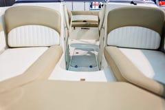 Деталь быстроходного катера Стоковые Фото