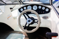 Деталь быстроходного катера Стоковая Фотография RF