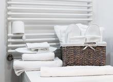 Деталь ванной комнаты гостиницы Стоковые Фотографии RF