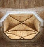 Деталь Валенсии Torres de Serranos Внутри Стоковая Фотография