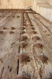 Деталь Валенсии Torres de Serranos Двери Стоковые Изображения RF