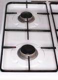 Деталь верхней части печи плиты Стоковое Изображение RF