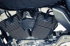 Деталь велосипеда мотора Стоковая Фотография