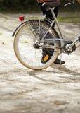 Деталь велосипеда Природа Стоковые Фото