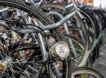 Деталь велосипеда светлая стоковая фотография rf