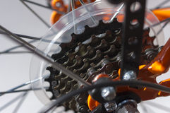 Деталь велосипеда. Стоковые Фото