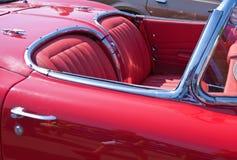 Деталь винтажного автомобиля Стоковые Фото