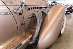 Деталь винтажного роскошного автомобиля Стоковое Изображение RF