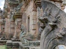 Деталь виска кхмера Стоковое Изображение