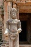 Деталь виска кхмера Стоковая Фотография