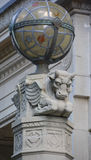 Деталь виска Монреаля Masonic мемориального Стоковые Фотографии RF