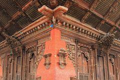 Деталь виска Kumbeshwar в Patan, Непале Стоковое фото RF