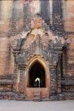 Деталь виска Mahamuni в Bagan, Мьянме Стоковое Изображение