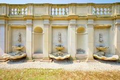 Деталь дворца Варшавы Wilanow Стоковые Фото