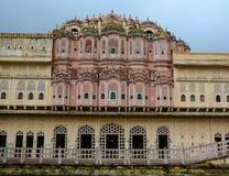 Деталь дворца ветра в Джайпуре, Индии Стоковая Фотография