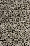 Деталь высекаенной стены в дворце Fez королевском, Марокко стоковое фото