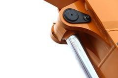 Деталь гидравлической предпосылки белизны бульдозера Стоковые Фото