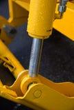 Деталь гидравлической руки экскаватора поршеня бульдозера Стоковые Изображения RF