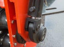 Деталь гидравлической руки экскаватора поршеня бульдозера Стоковое Изображение