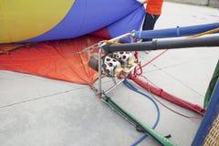 Деталь горелок использующего горячего воздух воздушного шара Стоковое Фото