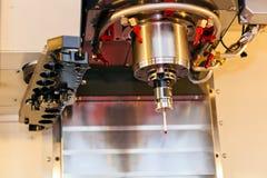 Деталь головы автомата для резки лазера стоковая фотография