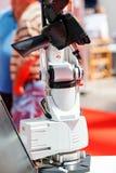 Деталь головы автомата для резки лазера стоковые изображения rf