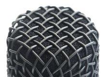 Деталь головы микрофона Стоковое Изображение