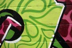 Деталь граффити Стоковые Фото