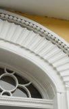 Деталь греческого Surround двери возрождения Стоковое фото RF
