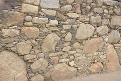 Деталь грубой каменной кладки Inca Стоковые Изображения RF