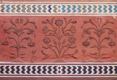 Деталь декоративная Jawab mahal taj Стоковое Изображение RF